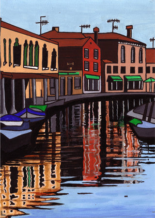 Venice One (SOLD)  Smart Deco Homeware Lighting and Art by Jacqueline hammond