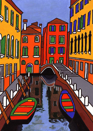 Venice Three  Smart Deco Homeware Lighting and Art by Jacqueline hammond