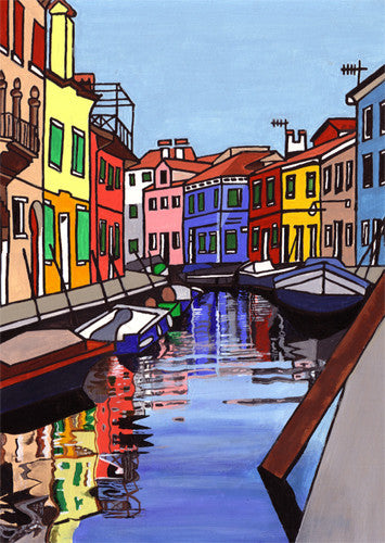 Venice Four (SOLD)  Smart Deco Homeware Lighting and Art by Jacqueline hammond