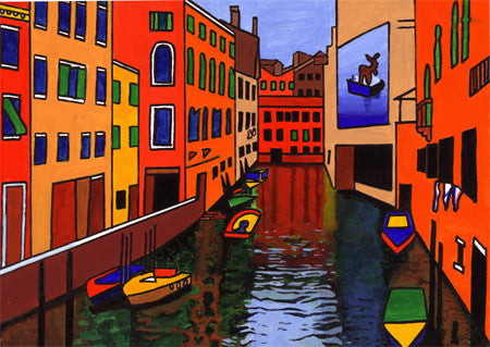 Venice Five  Smart Deco Homeware Lighting and Art by Jacqueline hammond