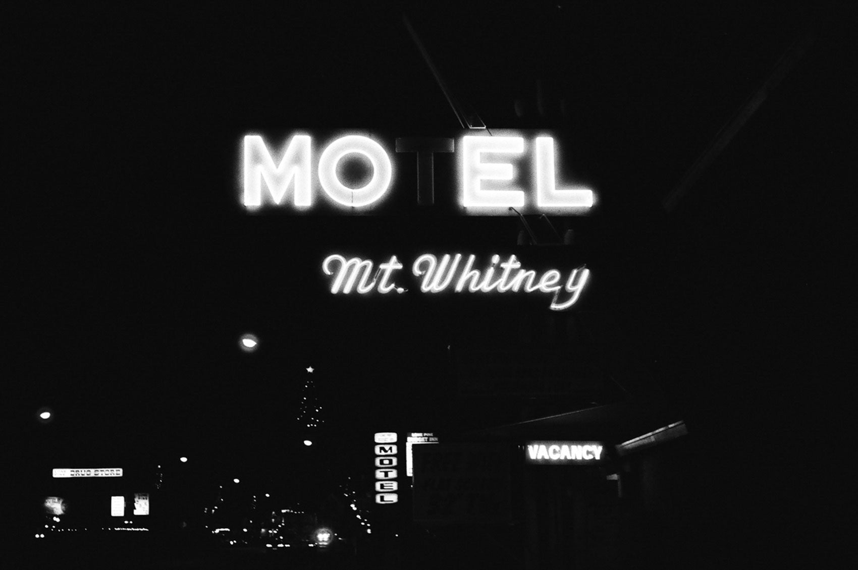 Mt. Whitney Motel by Corey Stanton | PRINT GALLERY