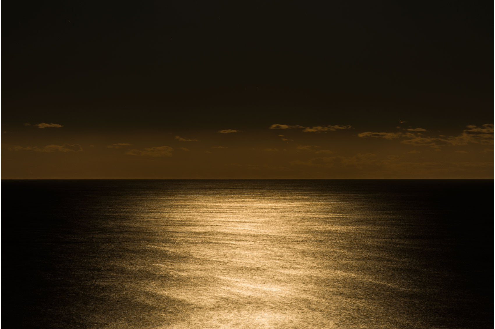 Under the Moonlight, Above the Sea by Chris Grundy | PRINT GALLERY