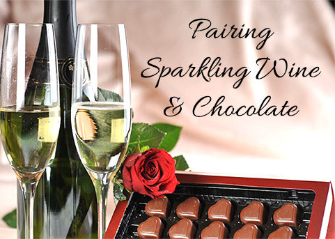 Pairing Prosecco, Grand Rose and Chocolate