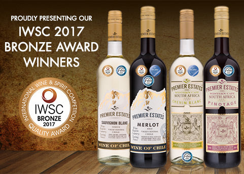 IWSC Bronze Award Winners