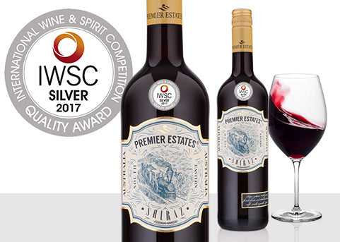 IWSC Silver For Australian Shiraz