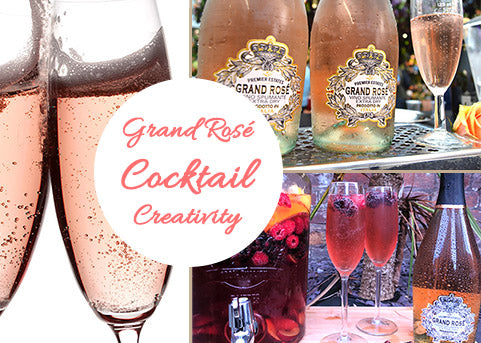 Pink Prosecco Cocktail Creativity