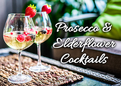 Prosecco and Elderflower Cocktails