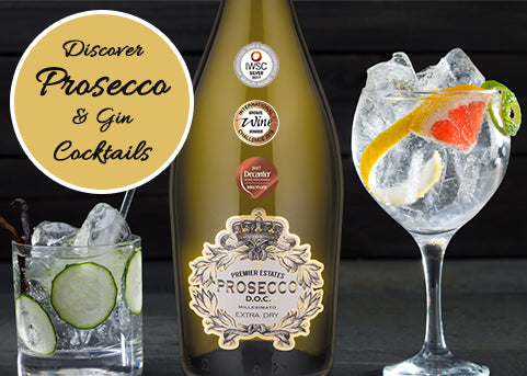 Prosecco and Gin Cocktails