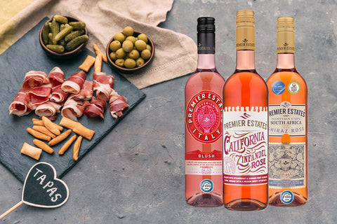 Rose wine varietals online cases of 6 bottles