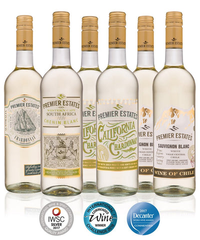 WINE TASTING EVENT CASE OF NEW WORLD WHITE WINES