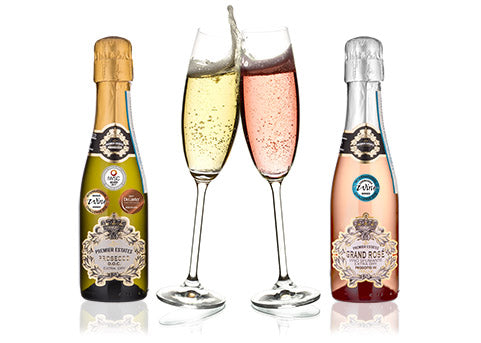 Mini Prosecco Mini Grand Rose