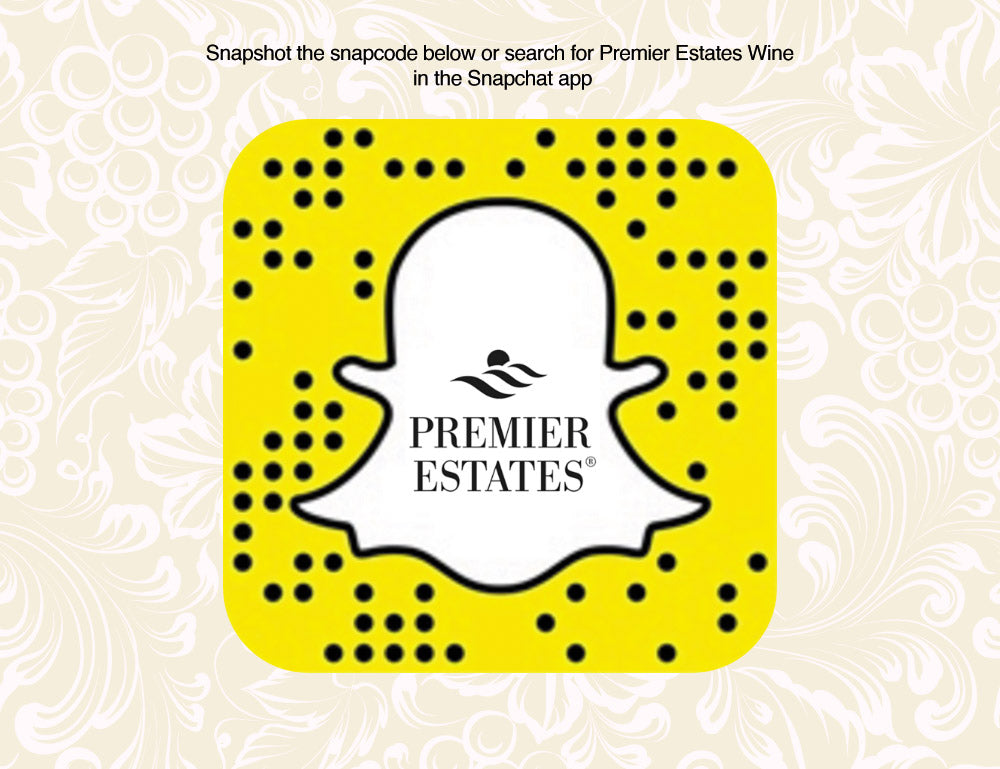 Premier Estates Wine Snapchat