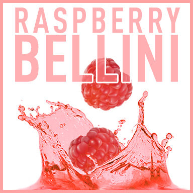 Raspberry Bellini Prosecco Cocktail