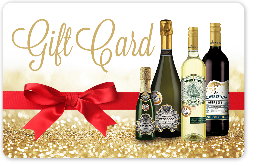 Premier Estates Wine Gift Card