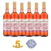 White Zinfandel Rose Wine Case of 6