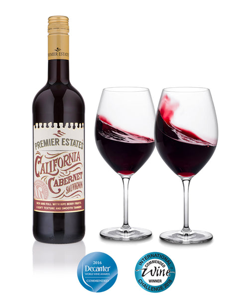 Californian Cabernet Sauvignon Red Wine Case Of 6 With Free Uk Delivery Premier