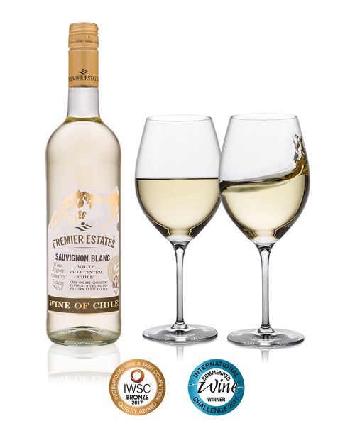 Premier Estates Chilean Sauvignon Blanc White Wine case of 6 bottles product image