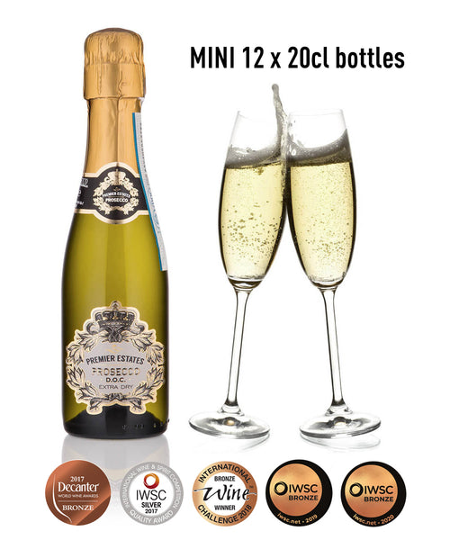 Mini Prosecco 12 x 20cl
