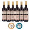 South African Pinotage red wine case of 6 bottles