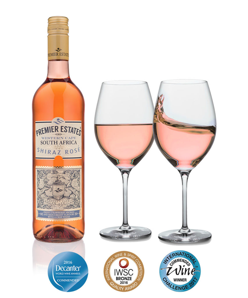 South African Shiraz Rose Wine