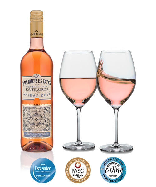 South African Shiraz Rosé 6 x 75cl