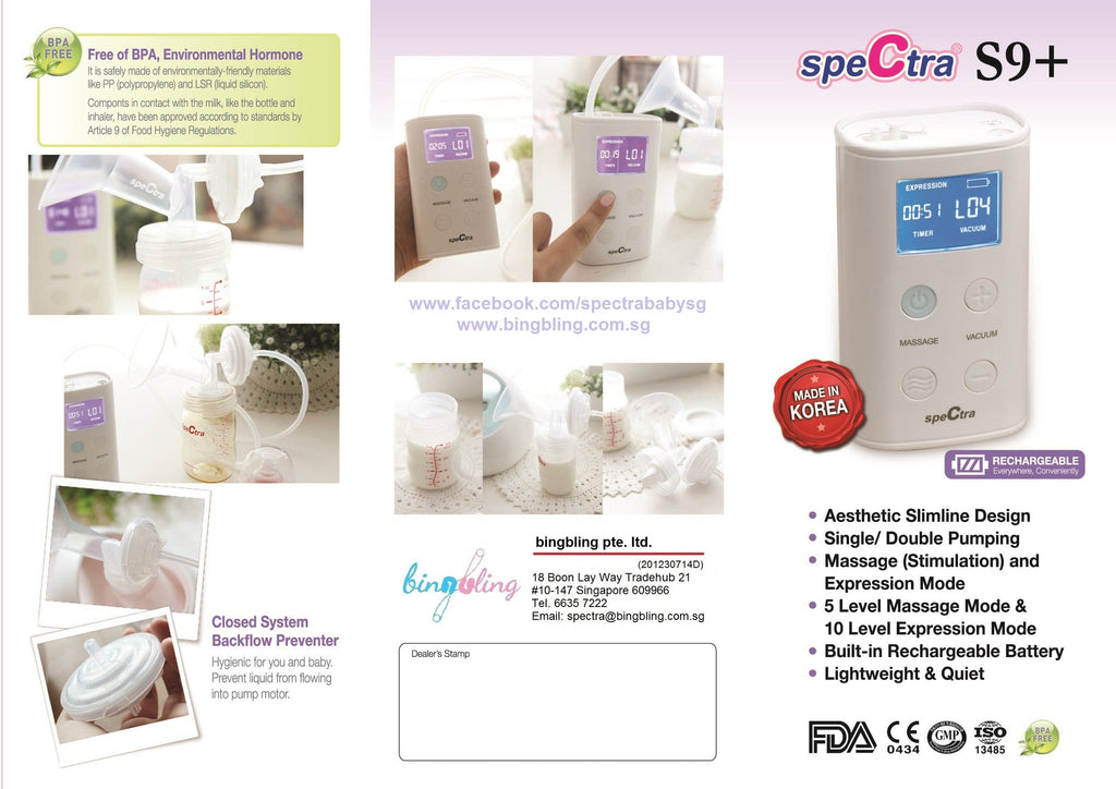 how to use breast pump spectra