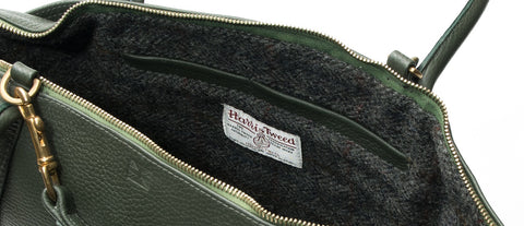 redmeg harris tweed lined handbags genuine heritage material