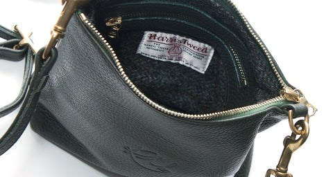redmeg leather handbags harris tweed genuine heritage