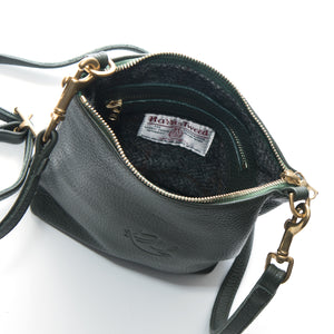 Daisy Cross Body Bag - Dark Green