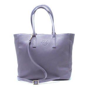 Sweet Pea Leather Handbag in Lilac