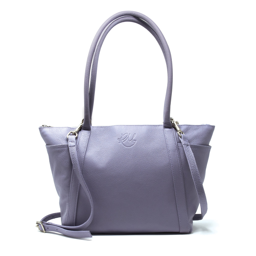 Forget Me Not Handbag in Lilac