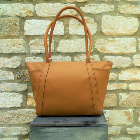 S/S 16 Forget Me Not Handbag in Tan