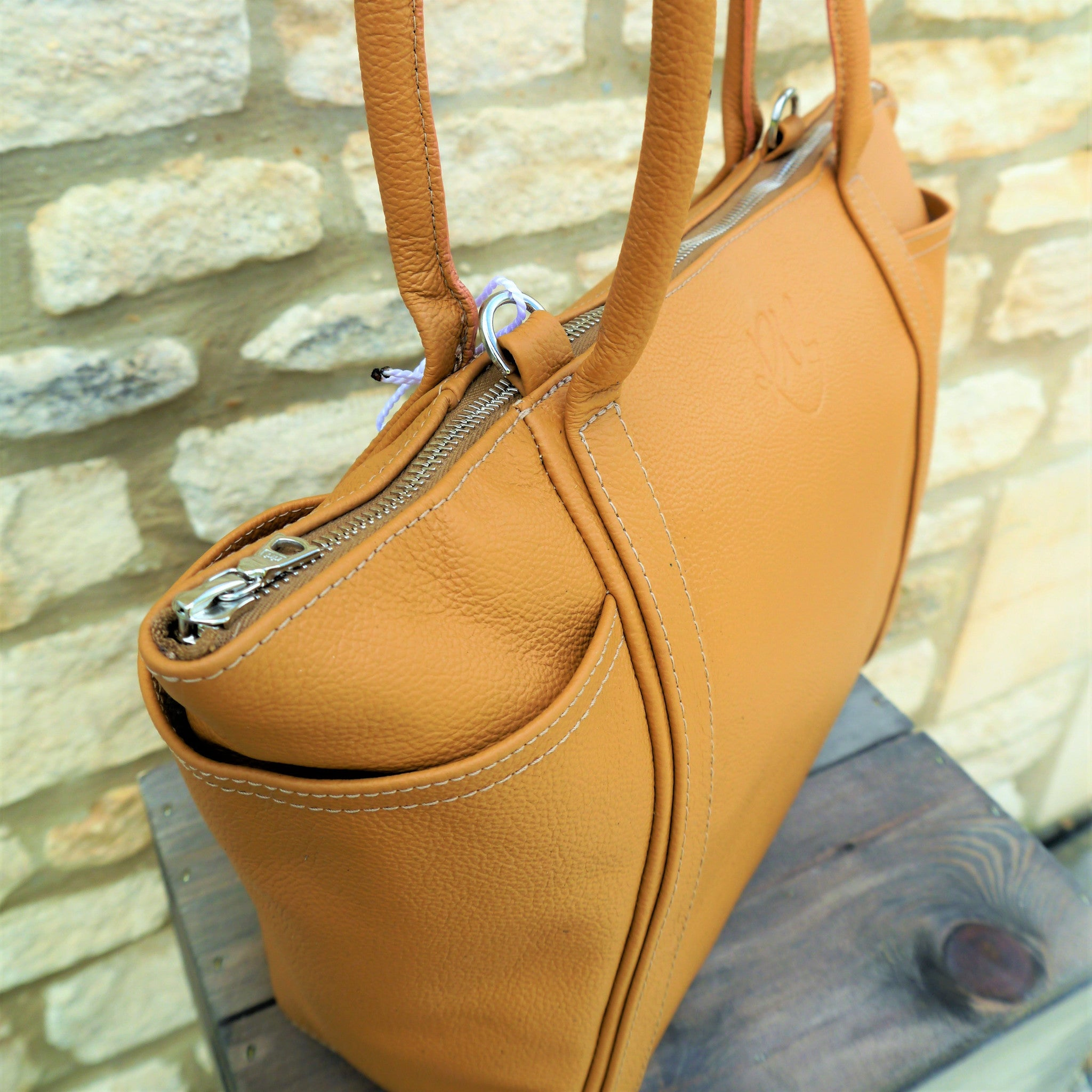 Forget Me Not Handbag in Tan