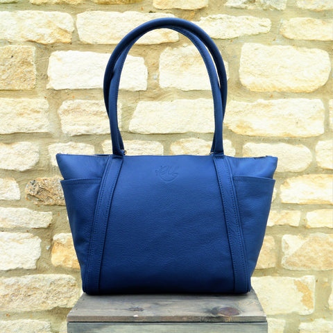 S/S 16 Forget Me Not Handbag in Navy