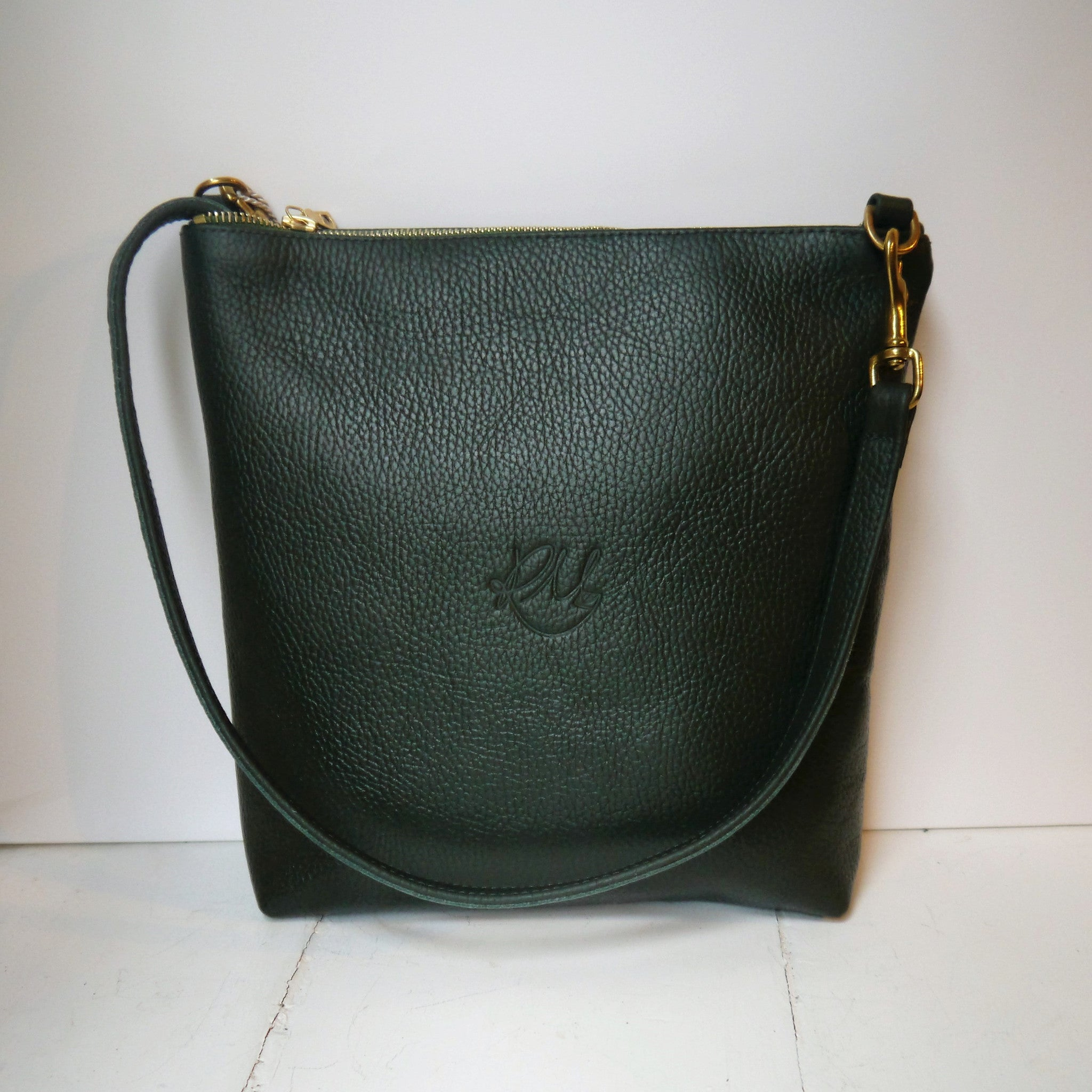 A/W'16 Willow cross body bag - Dark Green