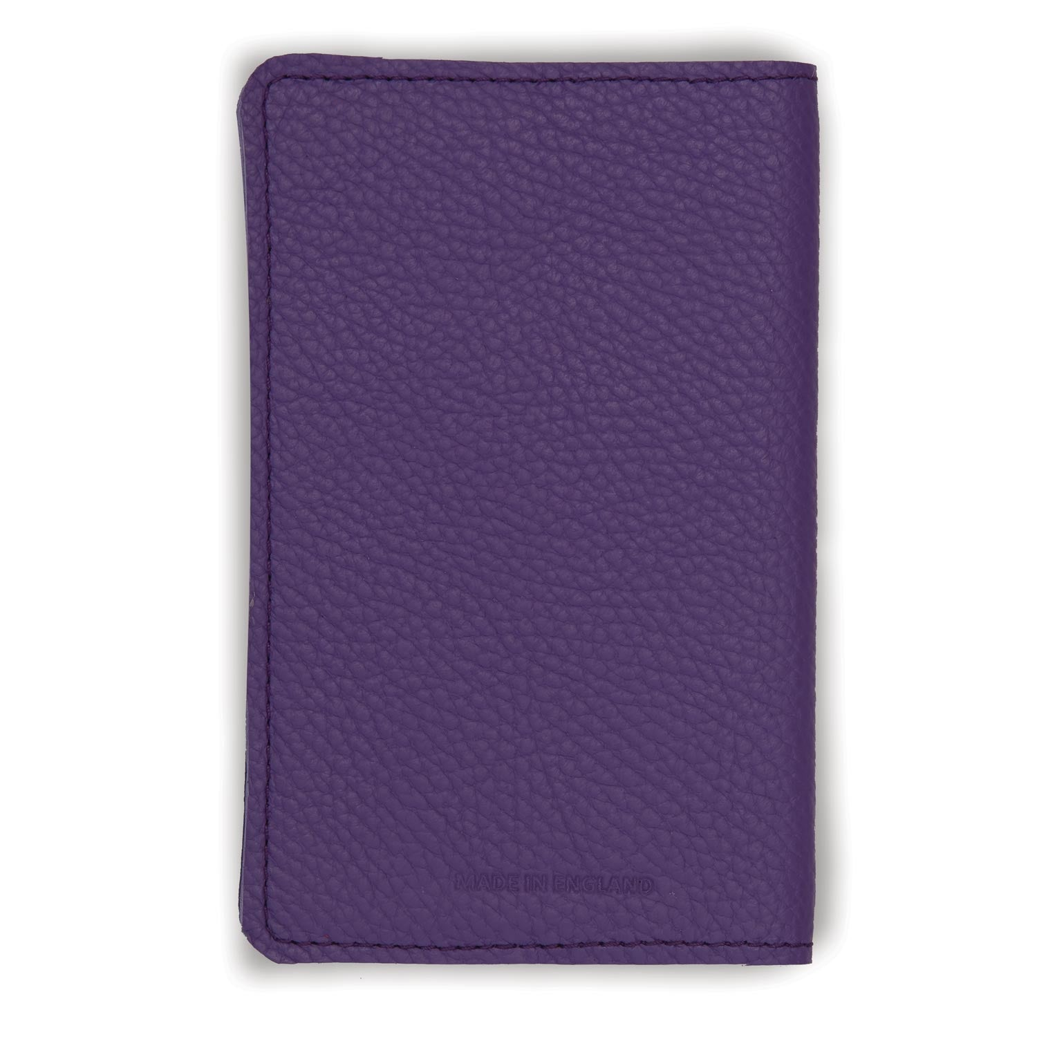 Leather Notebook - Purple Paintbox