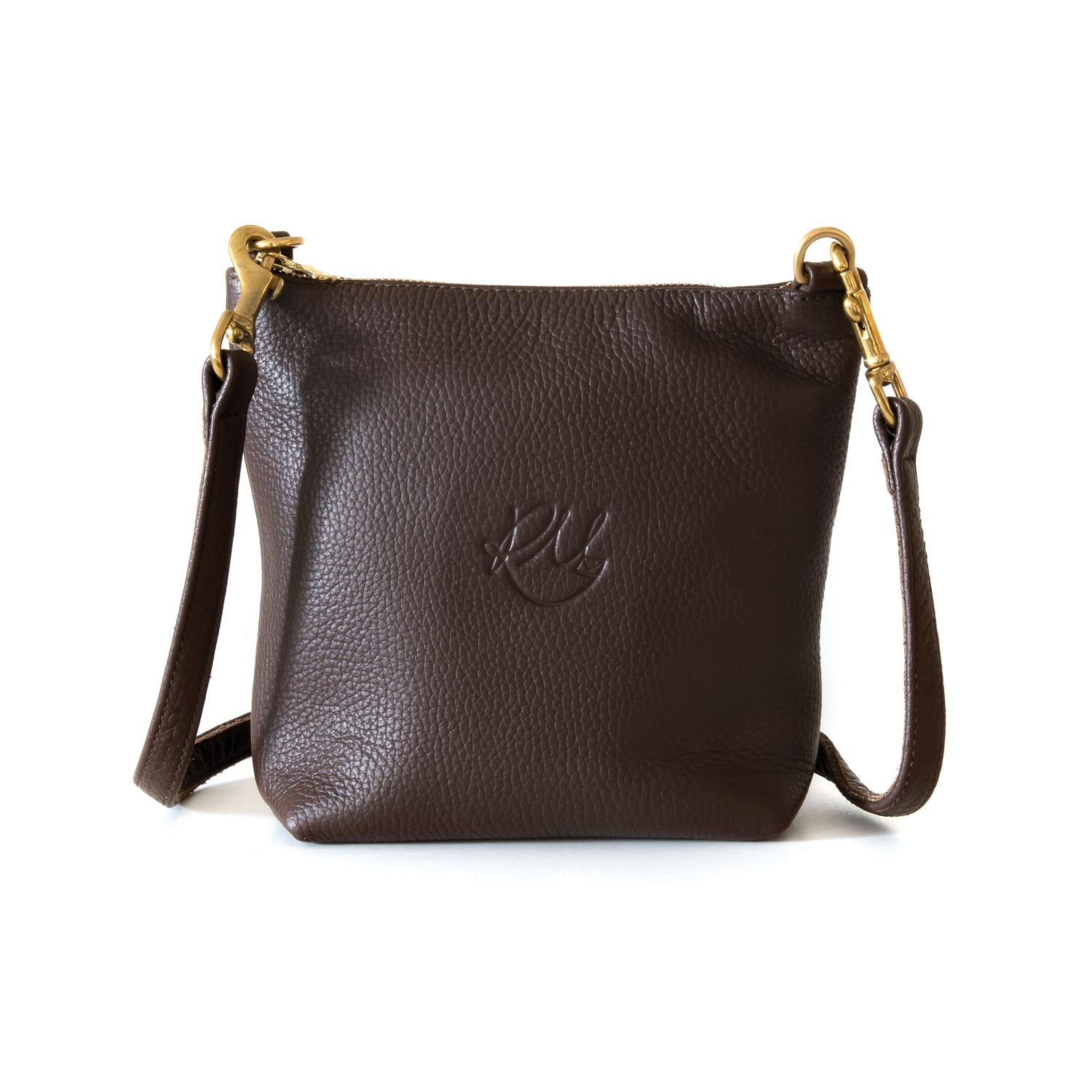Daisy Cross Body Bag - Chocolate brown