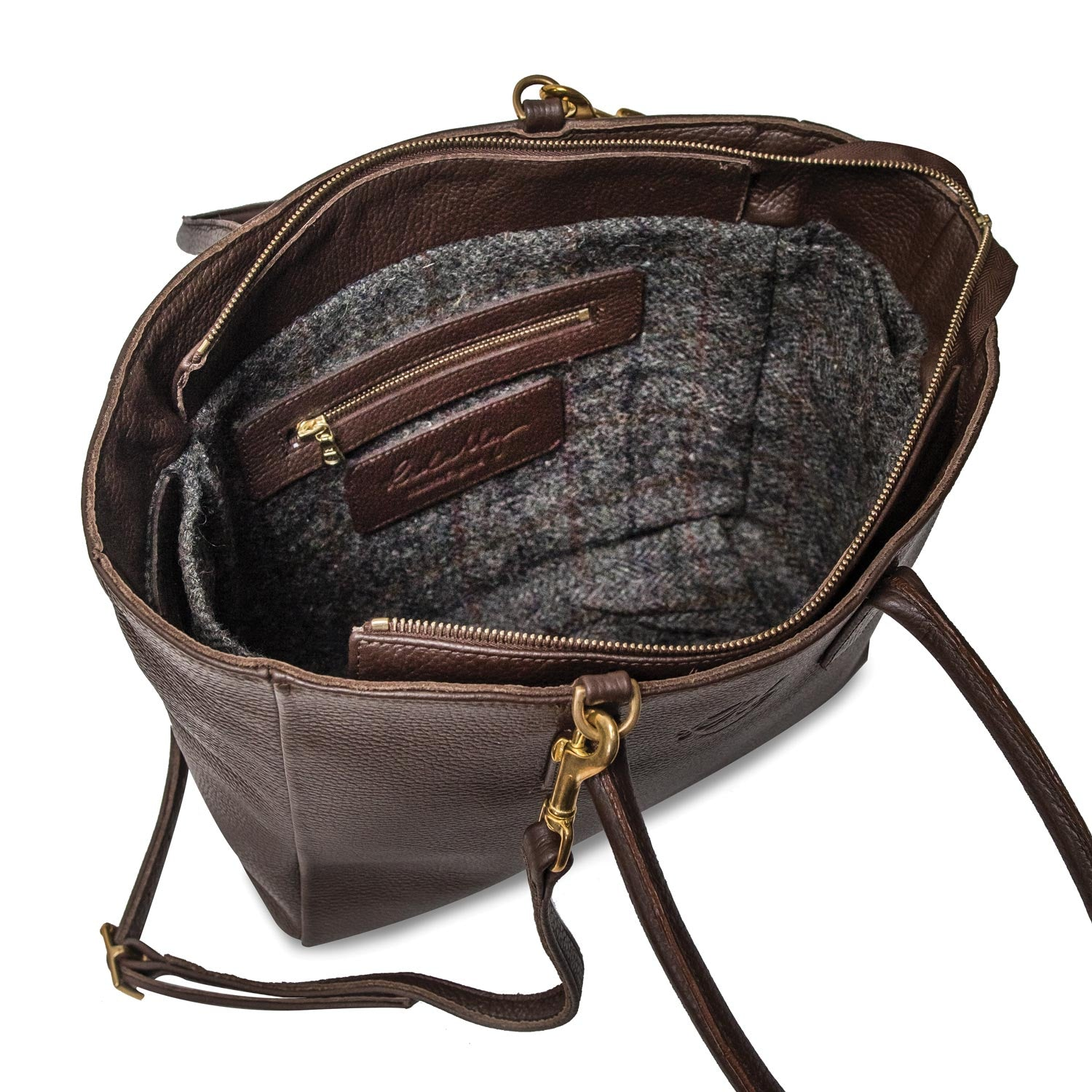 Sweet Pea Handbag in Chocolate brown