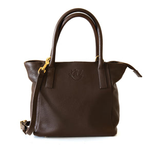 Buttercup Mini Handbag - Chocolate Brown