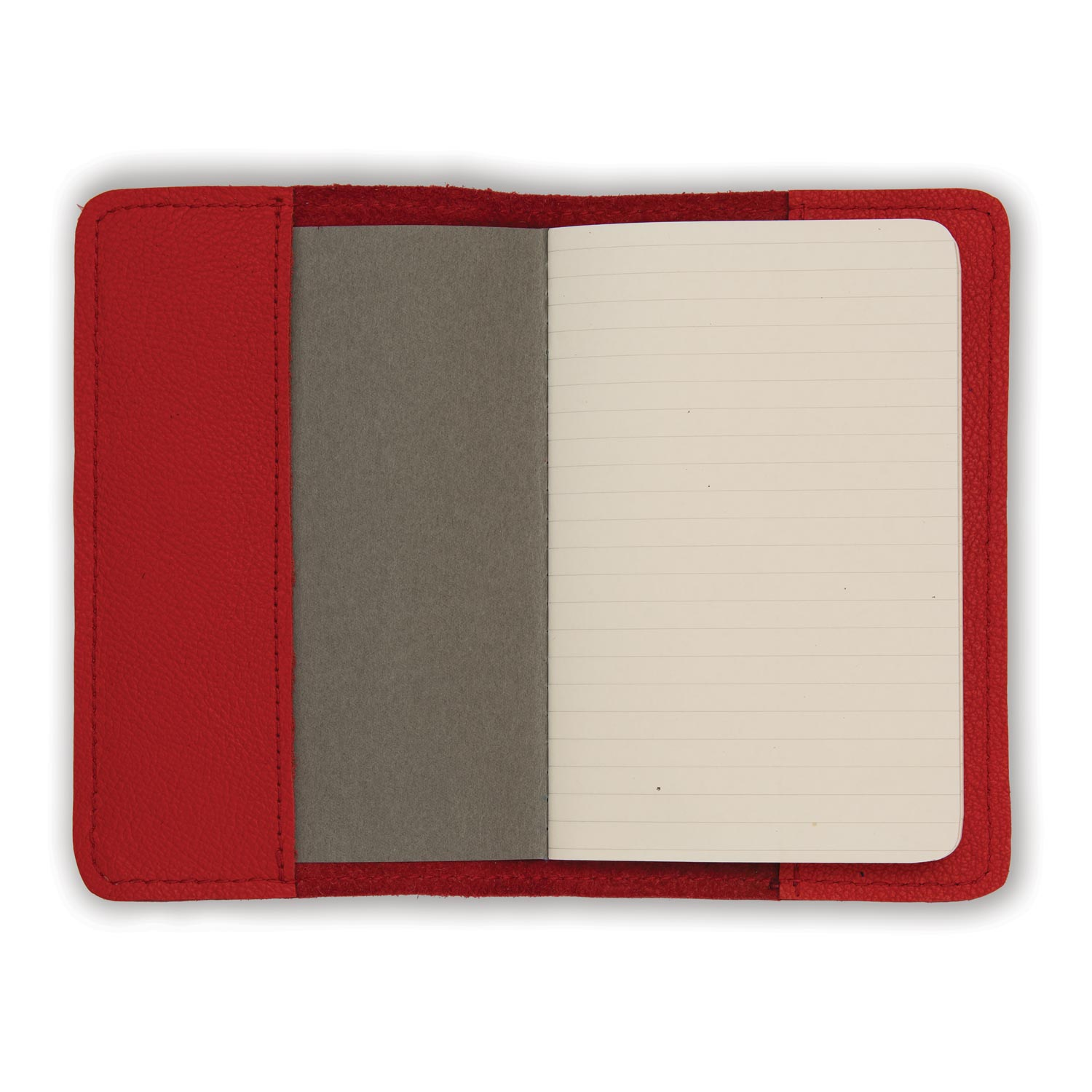 Leather Notebook - Red Biker