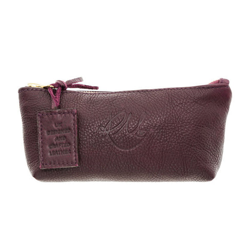 Poppy Make Up Bag in Wine - Small