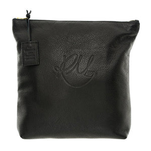 Poppy Make Up Bag in Black - Large