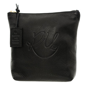 Poppy Make Up Bag in Black - Medium