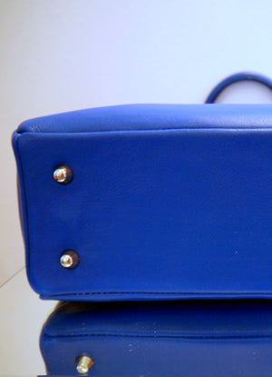 S/S 15 Forget Me Not Handbag in royal blue leather