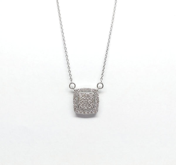 Cushion Cut  Diamond Pendant AD NO.2070