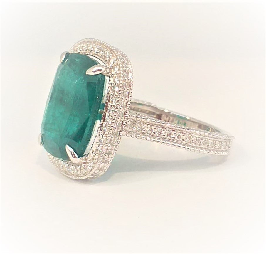EMERALD QUEEN RING AD NO. 2167