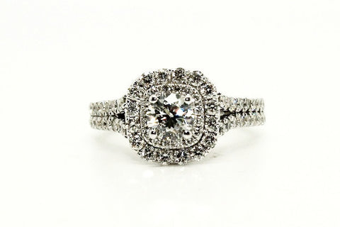 Diamond Fountain Ring / Item Code : RNG 20