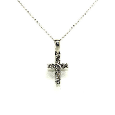 Black And White Reversable Diamond Cross Ad No.0991