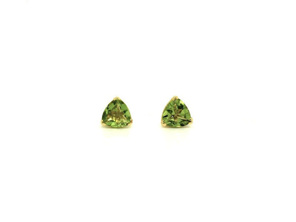 Peridot Stud Trillian Cut Ad No.1098 (6mm )