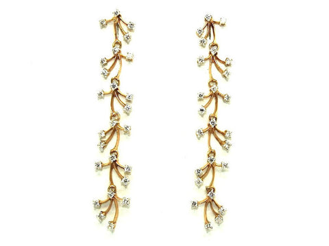 Diamond Waterfall Earring Ad No.0122
